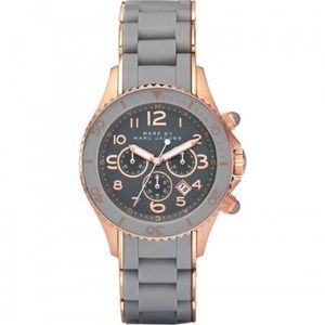 Gray and Rose Gold Watch by Marc Jacobs MBM2550